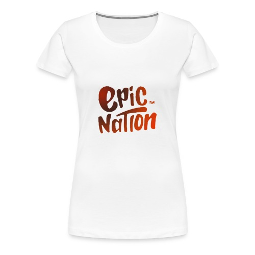 Epic nation Sportsgear - Women's Premium T-Shirt