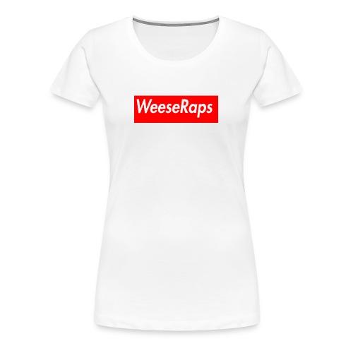 WeeseRaps Supreme Design - Women's Premium T-Shirt