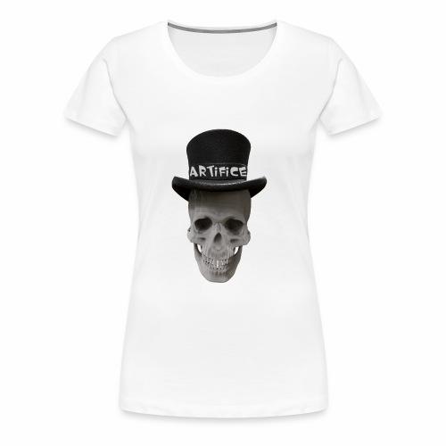 Artifice Skull Head - Women's Premium T-Shirt