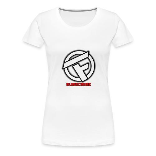 Subscribe Logo - Women's Premium T-Shirt