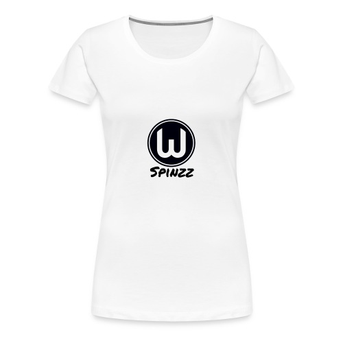 Spinzz Logo - Women's Premium T-Shirt