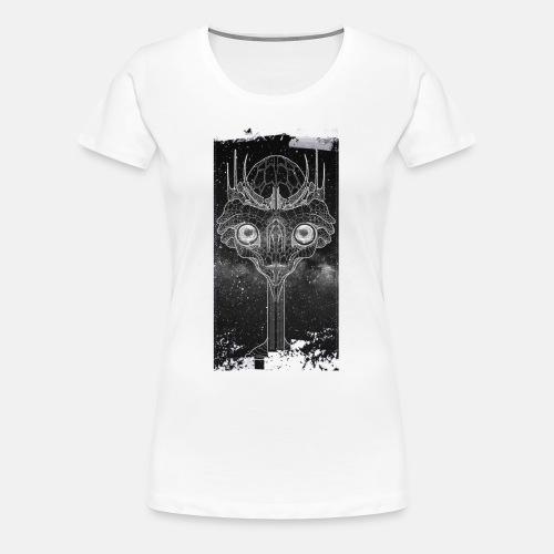 aliendream black and wait - Women's Premium T-Shirt