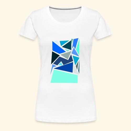 Funky Triangles - Women's Premium T-Shirt