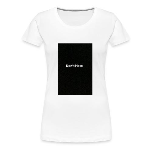 1668BA1A 2D05 4AD6 A214 2AAFB65F9916 - Women's Premium T-Shirt