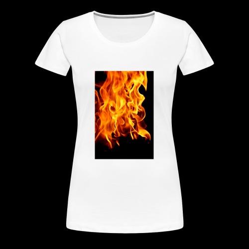 IMG f1r3 - Women's Premium T-Shirt
