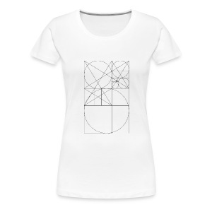 The Golden Rule - Black - Women's Premium T-Shirt