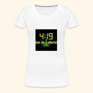 What time - Women's Premium T-Shirt