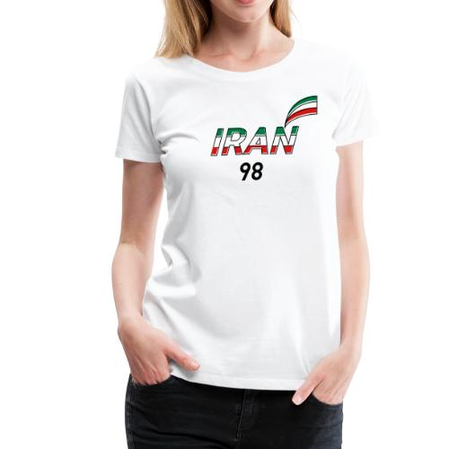 Iran's France 98 20th Anniversary Tee - Women's Premium T-Shirt