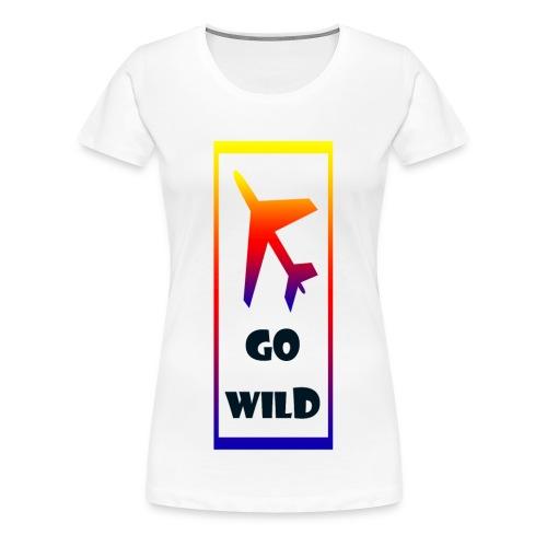 Go Wild - Women's Premium T-Shirt