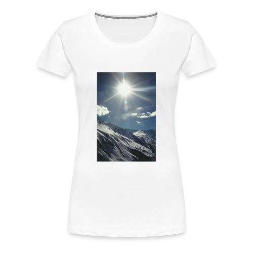 sun snow - Women's Premium T-Shirt