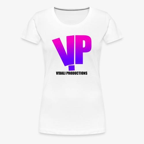 V!DALI PRODUCTIONS - Women's Premium T-Shirt