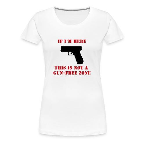 GunFreeZone - Women's Premium T-Shirt