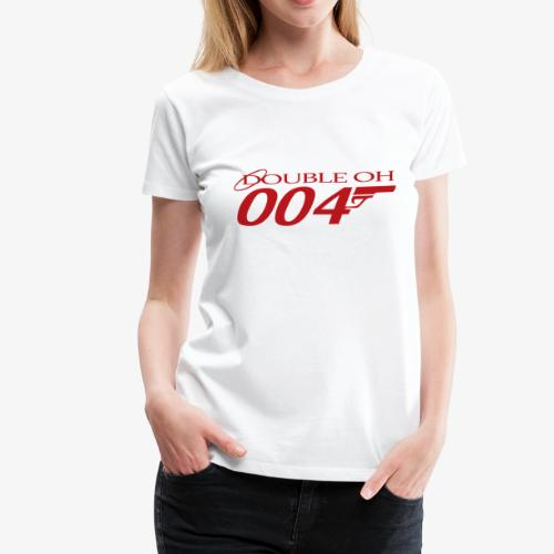 Double Oh Logo - Women's Premium T-Shirt