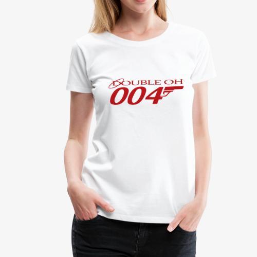 Double Oh Logo - Women's Premium T-Shirt