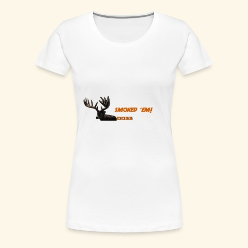 smoked 'em orange - Women's Premium T-Shirt