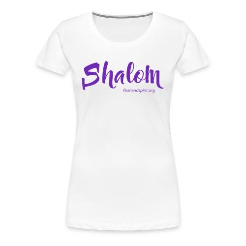 shalom t-shirt - Women's Premium T-Shirt
