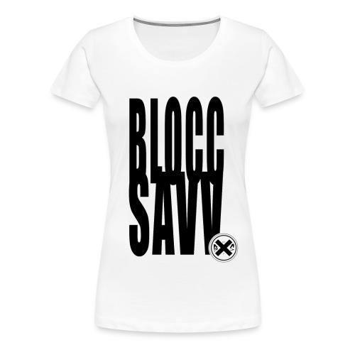 blocc savv - Women's Premium T-Shirt