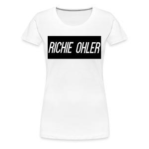 Richie Ohler Shirt Logo - Women's Premium T-Shirt