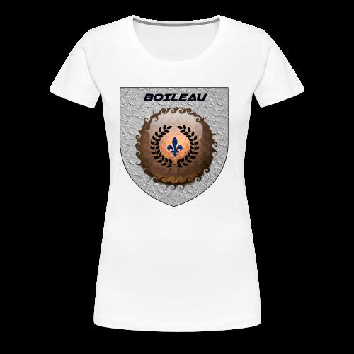 BOILEAU 1 - T-shirt premium pour femmes