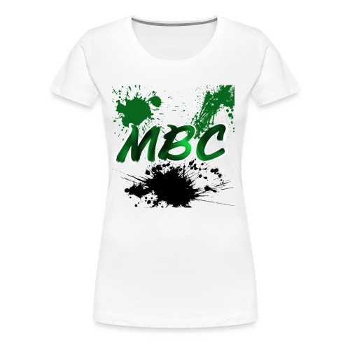 MinerBroConnor With Splatter - Women's Premium T-Shirt
