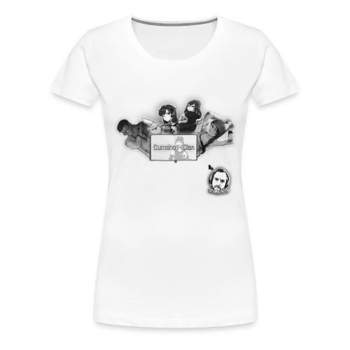 Motivo Cumshot Clan - Women's Premium T-Shirt