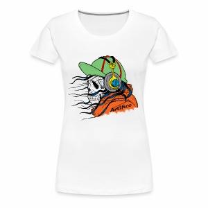 Music Man Skull - Women's Premium T-Shirt