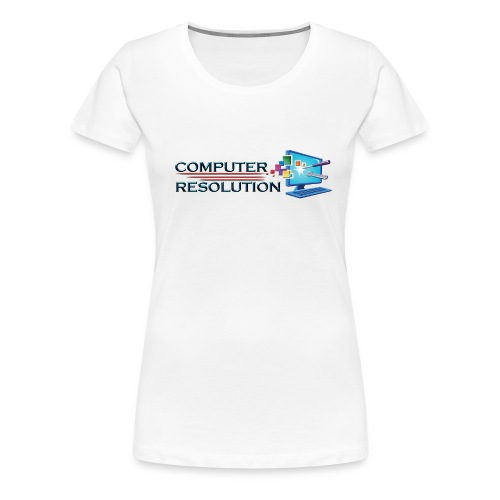 Colored Computer Resolution - Women's Premium T-Shirt