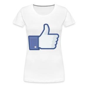 like it up - Women's Premium T-Shirt