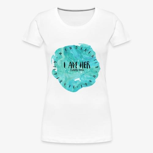 I AM HER - Women's Premium T-Shirt