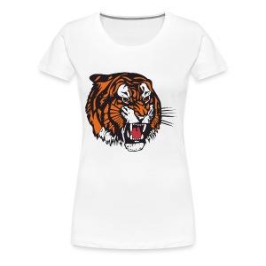 the beast tiger - Women's Premium T-Shirt