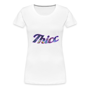 Thicc Galaxy - Women's Premium T-Shirt