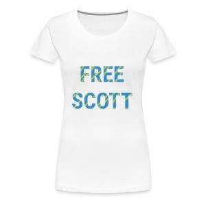 Free Scott - Women's Premium T-Shirt