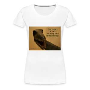 up with the upperlip - Women's Premium T-Shirt