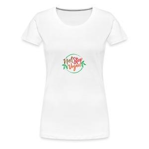 NextStopVegan01 2 - Women's Premium T-Shirt