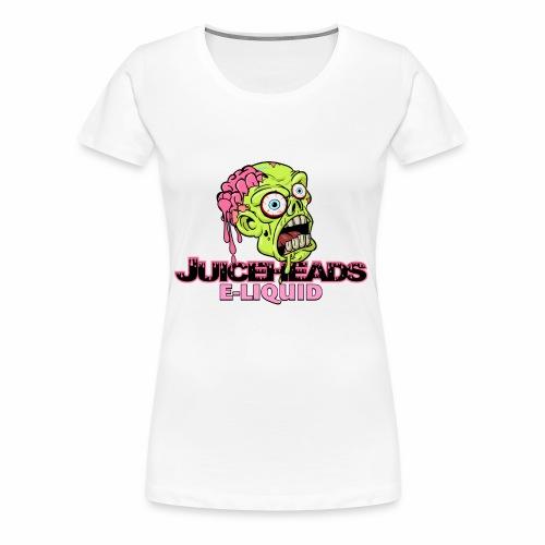 Juiceheads e-Liquid Logo - Women's Premium T-Shirt