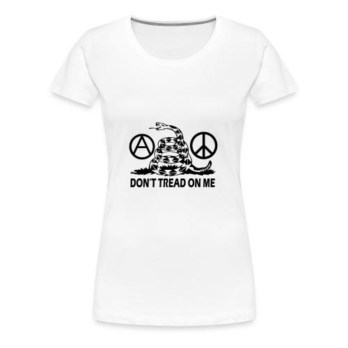 anarchy peace gasden - Women's Premium T-Shirt