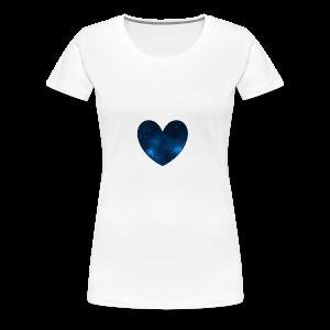 Galaxy Heart - Women's Premium T-Shirt