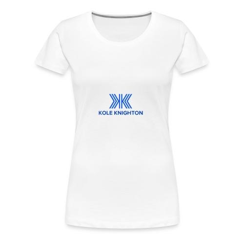 Kole Knighton Merch - Women's Premium T-Shirt