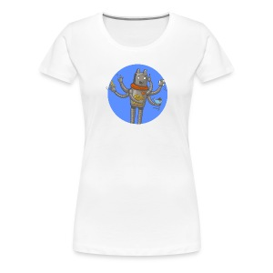 Robot GitLab CI/CD - Women's Premium T-Shirt