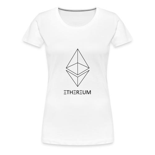 Ethereum - Women's Premium T-Shirt