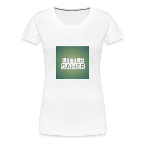 Little gamer - Women's Premium T-Shirt