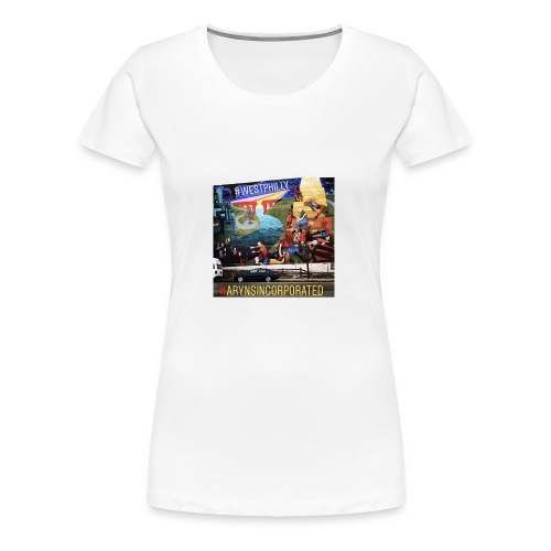 West Philly Art - Women's Premium T-Shirt