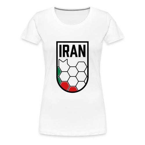 Iran Football Federation Crest - Women's Premium T-Shirt