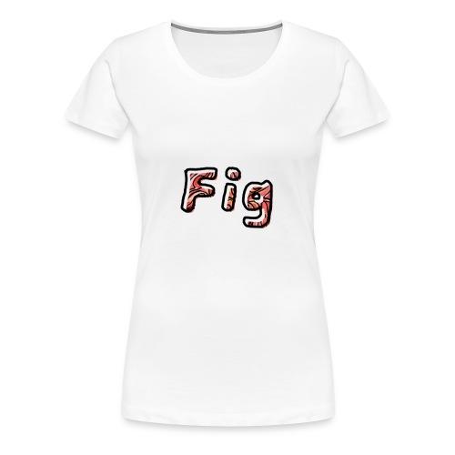 Fig Logo - Women's Premium T-Shirt