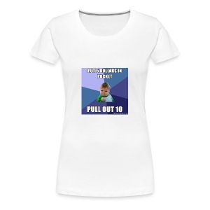 success 56a9fd1f3df78cf772abee09 - Women's Premium T-Shirt