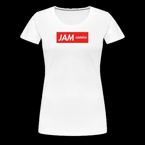 JAM comics logo (Supreme Style) - Women's Premium T-Shirt