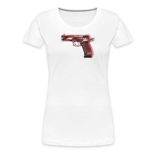 Pistol PopArt - Women's Premium T-Shirt