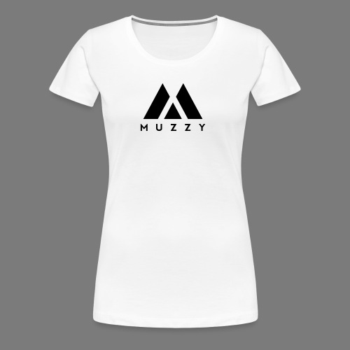 MUZZY Offical Logo Black - Women's Premium T-Shirt