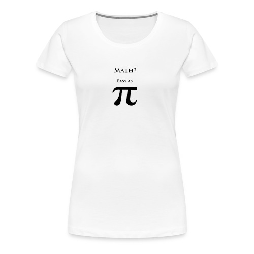Pi Black - Women's Premium T-Shirt