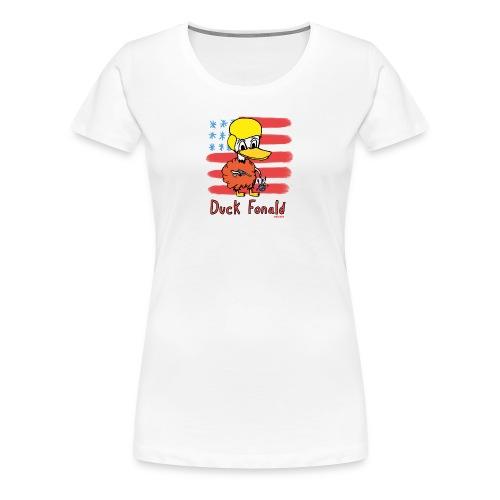 Duck Fonald - Women's Premium T-Shirt